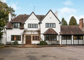 Thumbnail 4 bedroom detached house for sale in Hardwick Road, Streetly, Sutton Coldfield