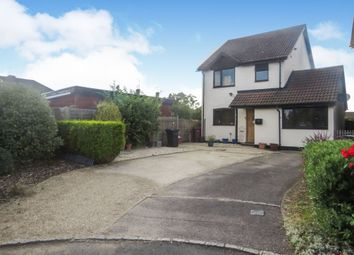 Thumbnail 3 bed detached house for sale in Dovecote Road, Reading