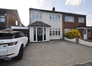 Thumbnail 4 bed semi-detached house for sale in Virginia Close, Benfleet