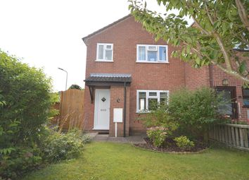 Thumbnail 3 bed semi-detached house for sale in Kirtley Way, Broughton Astley, Leics