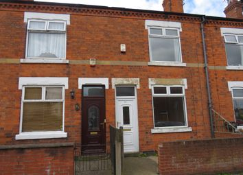 Thumbnail 2 bed terraced house for sale in Milton Street, Mansfield
