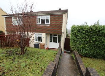 Thumbnail 2 bed semi-detached house for sale in Albany Road, Blackwood, Blackwood