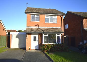 Thumbnail 3 bed detached house to rent in Aston Way, Oswestry