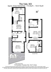 3 bed property to rent in The Vale, Acton W3