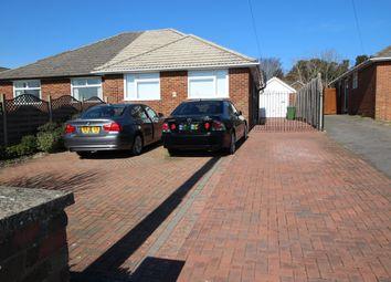 Thumbnail 2 bed semi-detached bungalow for sale in Vine Close, Sarisbury Green, Southampton
