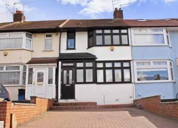 Thumbnail 3 bed terraced house to rent in Highfeld Road, Wood Green