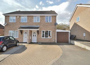 Thumbnail 3 bedroom semi-detached house for sale in East Rising, Wootton, Northampton
