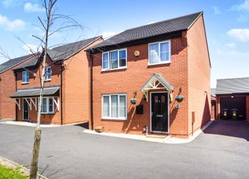 Thumbnail 4 bed detached house for sale in Merevale Way, Derby