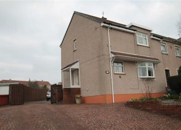 Thumbnail 2 bed end terrace house for sale in Glenburn Avenue, Motherwell, Lanarkshire