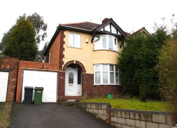 Thumbnail 3 bed semi-detached house to rent in Cannock Road, Wolverhampton