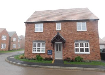 Thumbnail 4 bed detached house for sale in Brambly Close, Donisthorpe