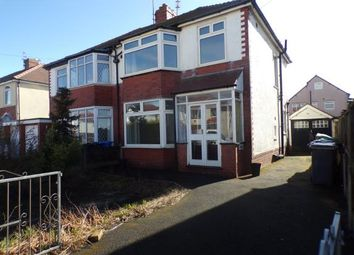 Thumbnail 3 bed semi-detached house for sale in Leicester Avenue, Thornton-Cleveleys