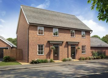 "Thumbnail 2 bed semi-detached house for sale in ""Leighton"" at Hamble Lane, Bursledon, Southampton"