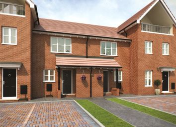 Thumbnail 2 bed terraced house for sale in Plot 76 Bowmont Phase 3, Navigation Point, Cinder Lane, Castleford