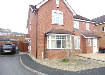 Thumbnail 2 bedroom semi-detached house for sale in Oxford Way, Tipton