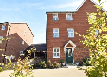 Thumbnail 4 bed town house for sale in Weldon Road, Ebbsfleet Valley, Swanscombe