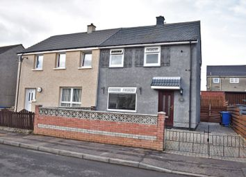 Thumbnail 2 bed semi-detached house for sale in 93 Castlehill Road, Dumbarton