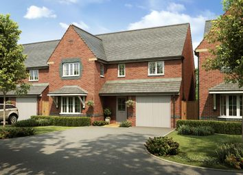 "Thumbnail 4 bed detached house for sale in ""Halesowen"" at Church Road, Webheath, Redditch"