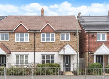 Thumbnail 4 bed semi-detached house for sale in Ambleside Avenue, Walton-On-Thames