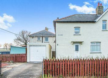 Thumbnail 3 bed semi-detached house for sale in Kiln Lonnen, Shilbottle, Alnwick