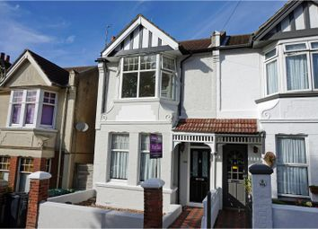 Thumbnail 3 bed end terrace house for sale in Osborne Road, Brighton