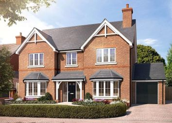 Thumbnail 5 bed detached house for sale in Gardners Hill Road, Farnham, Surrey