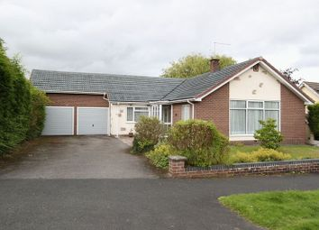Thumbnail 3 bed detached bungalow for sale in Geneva Drive, Newcastle-Under-Lyme