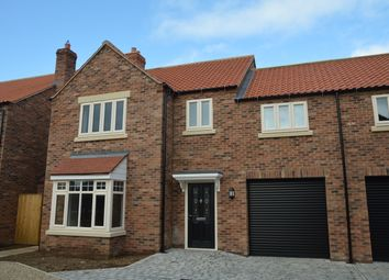 Thumbnail 5 bed semi-detached house for sale in Orchard Close, Scarborough Road, Rillington, Malton