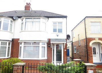 Thumbnail 3 bed terraced house to rent in Silverdale Road, Hull