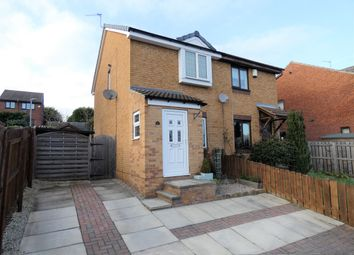 Thumbnail 2 bed semi-detached house for sale in Woodmoor Drive, Crigglestone, Wakefield