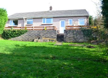 Thumbnail 3 bedroom detached bungalow for sale in Howells Road, Dunvant, Swansea
