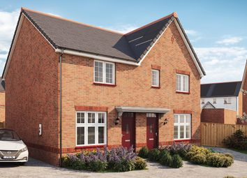 Thumbnail 2 bed semi-detached house for sale in Wilfred Way, Tonyrefail