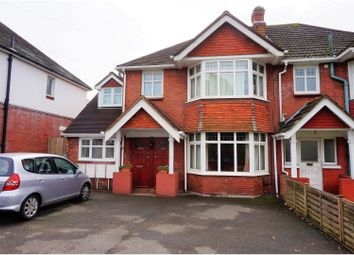 Thumbnail 3 bedroom maisonette for sale in Winchester Road, Upper Shirley, Southampton