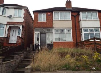 Thumbnail 3 bed semi-detached house for sale in Thetford Road, Birmingham, West Midlands