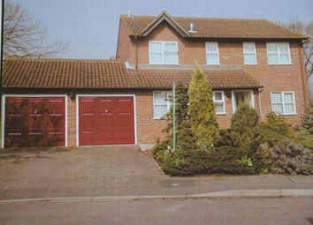 Thumbnail 4 bed detached house to rent in Hollies Walk, Wootton, Bedford