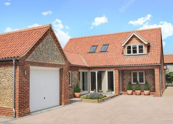 Thumbnail 3 bed detached house for sale in The Chase, Blakeney, Holt