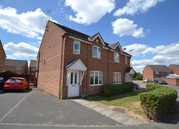 Thumbnail 3 bed semi-detached house for sale in Strathern Road, Leicester, Leicestershire