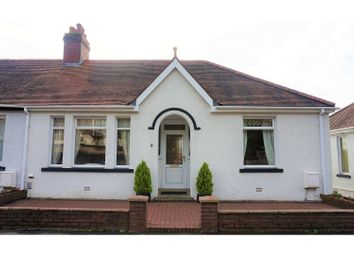 Thumbnail 2 bed semi-detached bungalow for sale in Park Drive, Neath