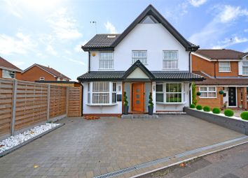 Thumbnail 5 bed detached house for sale in Wickham Close, Keresley, Coventry
