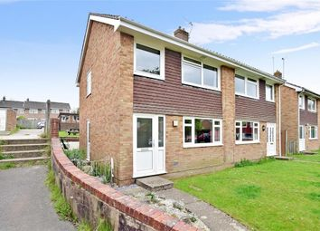 Thumbnail 3 bed semi-detached house for sale in Nevill Road, Uckfield, East Sussex