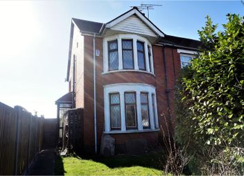 Thumbnail 3 bed end terrace house for sale in Kenpas Highway, Coventry