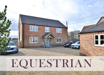 Thumbnail 4 bed detached house for sale in The Causeway, Stow Bridge, King's Lynn