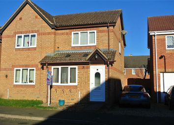 Thumbnail 2 bed semi-detached house for sale in Lindsey Close, Bourne, Lincolnshire