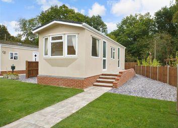 Thumbnail 1 bed mobile/park home for sale in East Hill Park, Knatts Valley, Sevenoaks, Kent