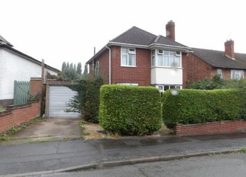 Thumbnail 3 bed detached house for sale in Fielding Road, Birstall, Leicester, Leicestershire