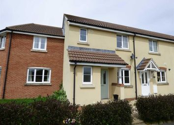 Thumbnail 3 bedroom terraced house for sale in Turnock Gardens, West Wick, Weston-Super-Mare