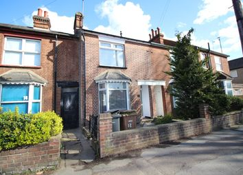 Thumbnail 3 bed terraced house to rent in Grove Road, Hitchin