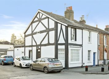 Thumbnail 2 bed end terrace house for sale in Pantile Road, Weybridge, Surrey