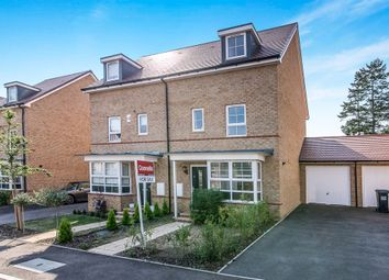 Thumbnail 4 bedroom town house for sale in Sparrowhawk Place, Hatfield