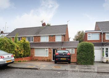Thumbnail 4 bed semi-detached house for sale in Acomb Crescent, Red House Farm, Gosforth